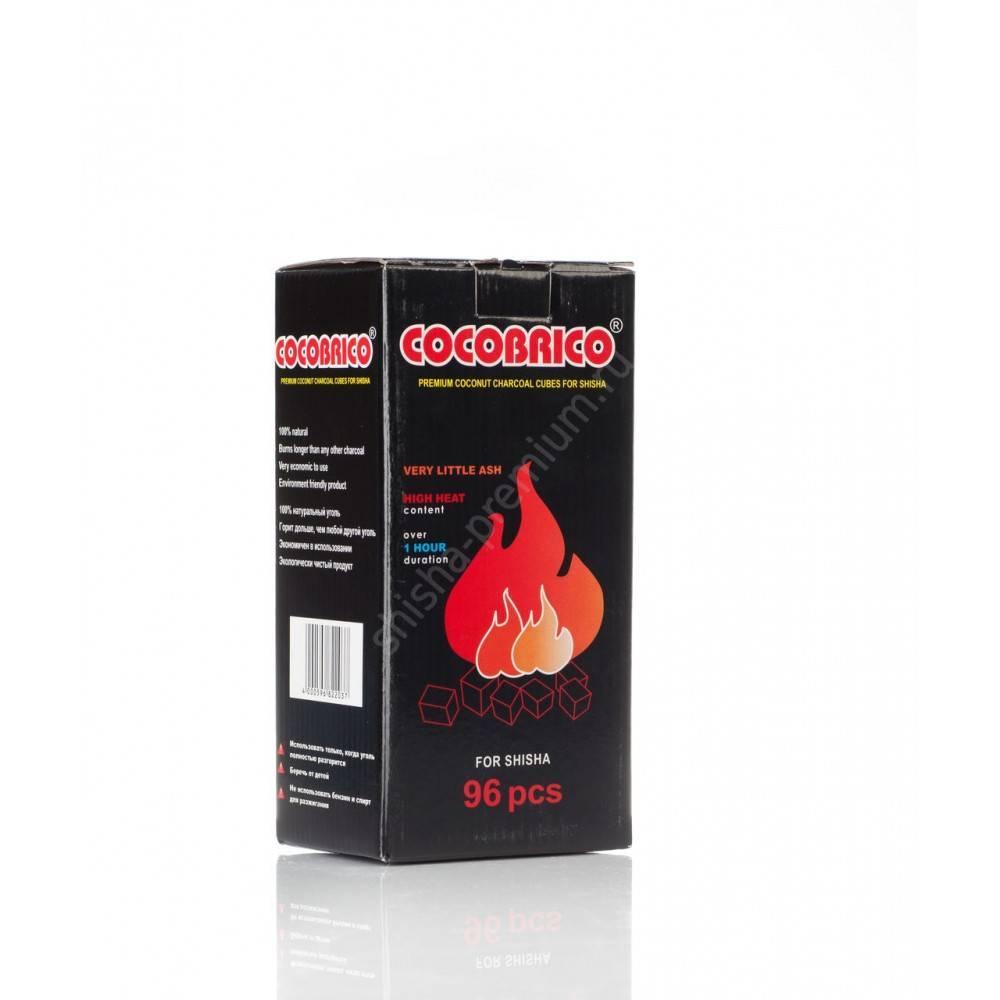 Уголь для кальяна Coco Brico 96 куб.