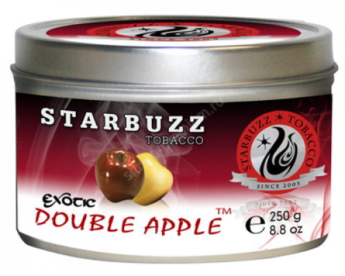 Табак для кальяна Starbuzz Double apple 250 гр.