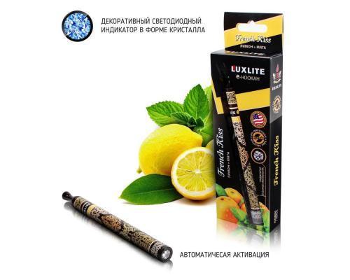 Одноразовый электронный кальян LUXLITE со вкусом лимона и мяты