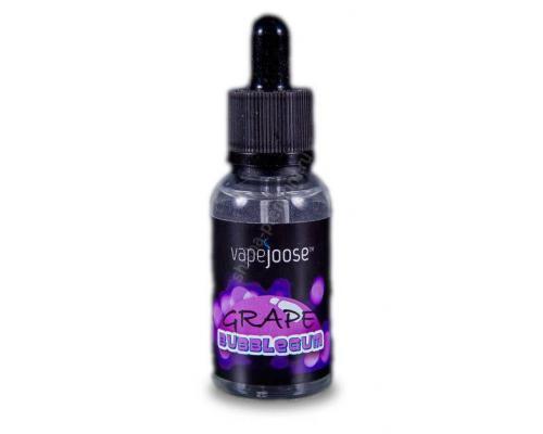 Жидкость Vapejoose (grape bubble gum 30 ml.) (0 мг, 3 мг, 6 мг)