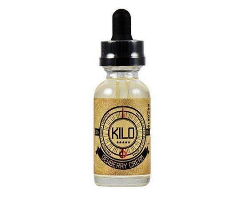 Жидкость для парения Kilo, dewberry cream (0, 3, 6 mg.)