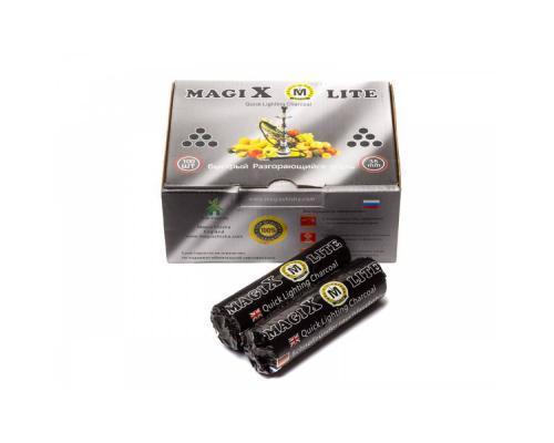Уголь для кальяна Magix кольца 40 мм.