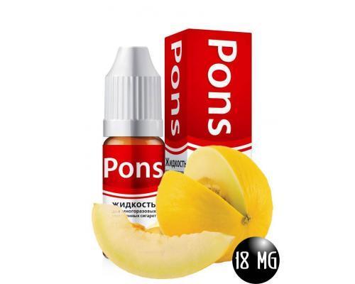 Жидкость для эл. сигарет PONS 18 мг. дыня 10 мл.
