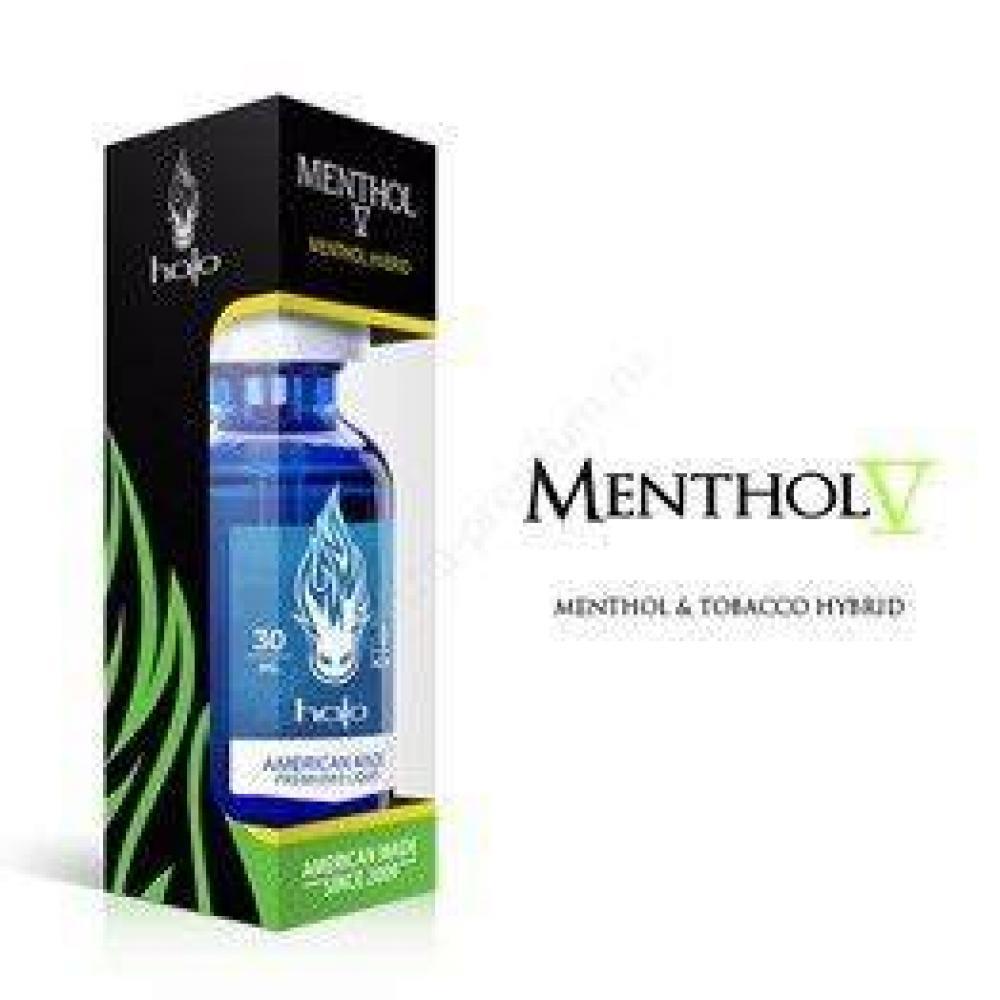 Жидкость для парения Halo, mentol (0, 6, 12 mg)