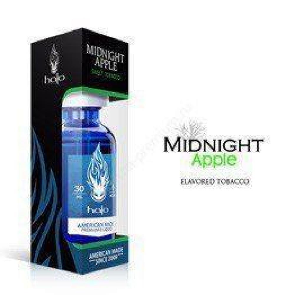 Жидкость для парения Halo, midnight apple (0, 6, 12 mg)