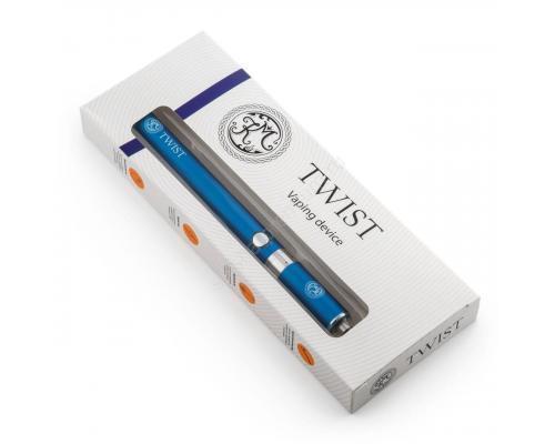 Многоразовая электронная сигарета КМ Twist (синяя)