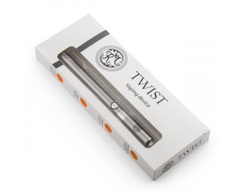 Многоразовая электронная сигарета КМ Twist (серебро)